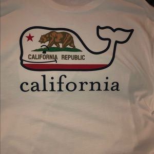 Mens Vineyard Vines California Long-Sleeve T-Shirt